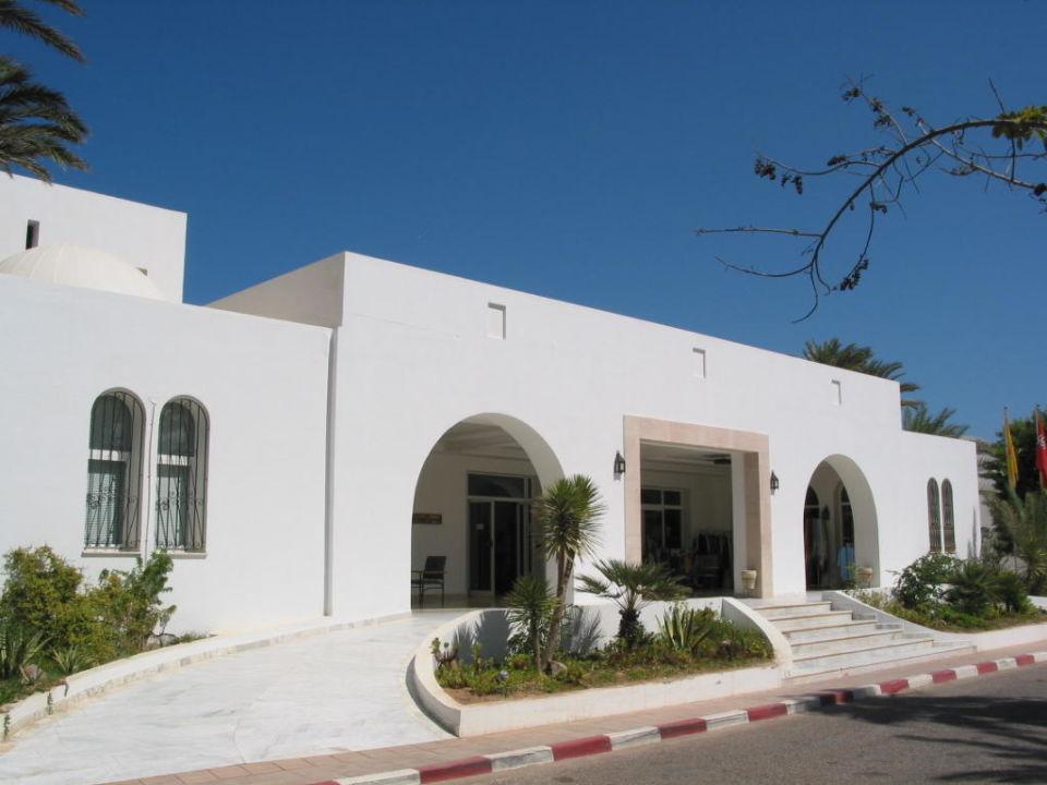 Hotel Eingang Hotel Meninx Djerba