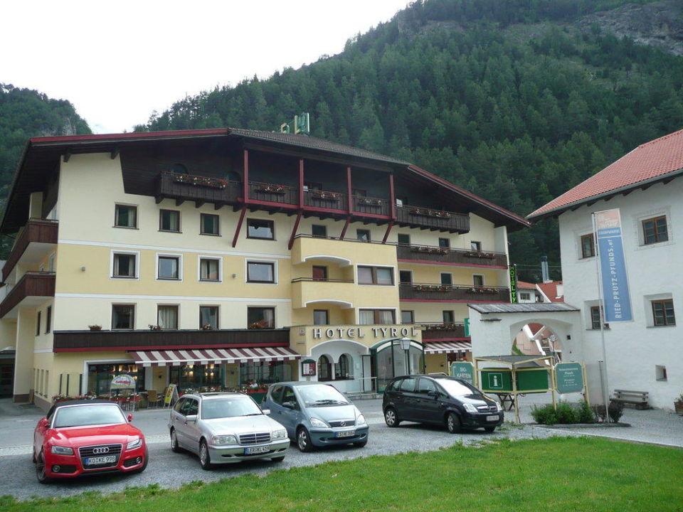Vorderansicht Des Hotels Hotel Tyrol Pfunds Holidaycheck Tirol