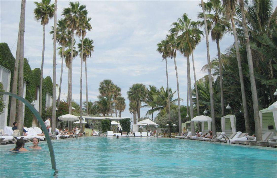 Garten und Pool Hotel Delano