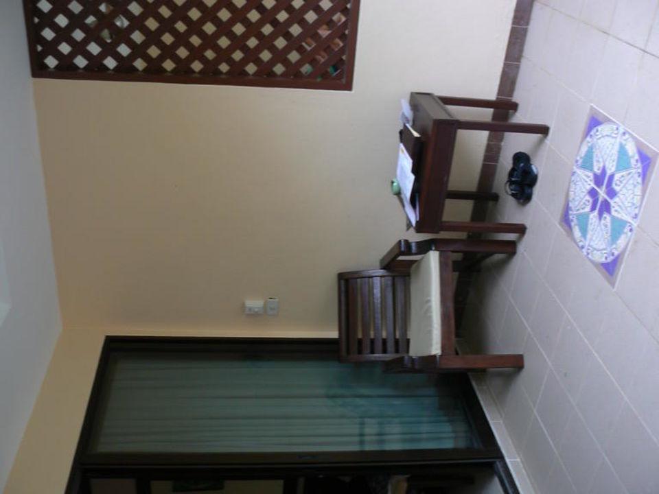 Veranda Haupthaus Pinnacle Samui Resort