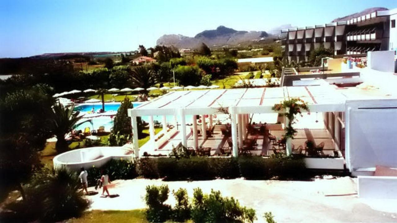 Afandou Beach Hotel - Hotelanlage Hotel Afandou Beach