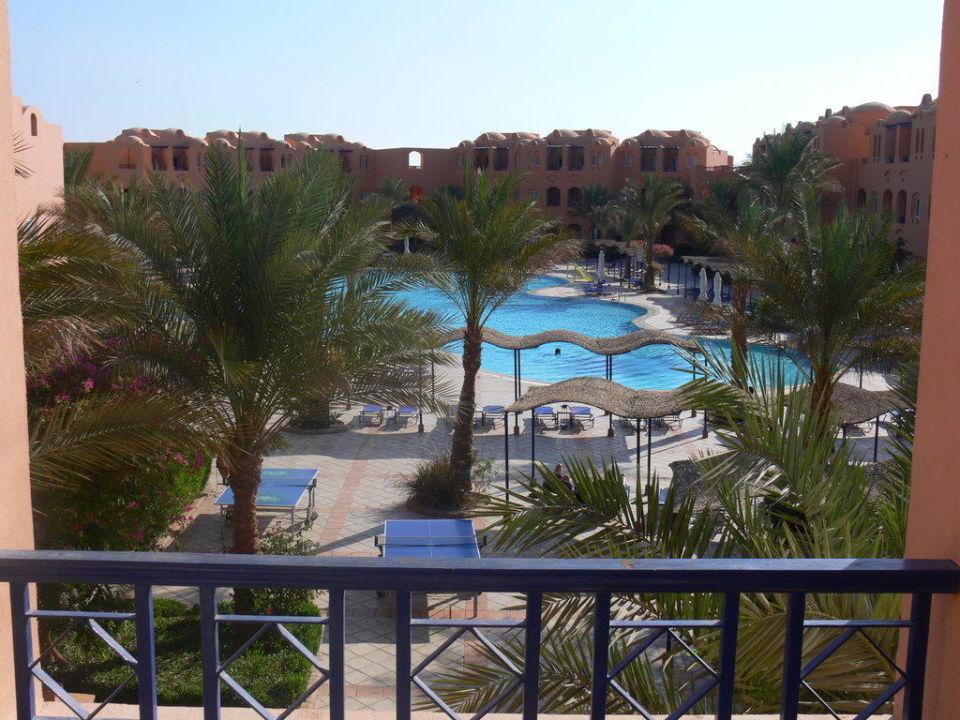 Blick aus dem Hotelzimmer Jaz Makadi Oasis Club & Resort