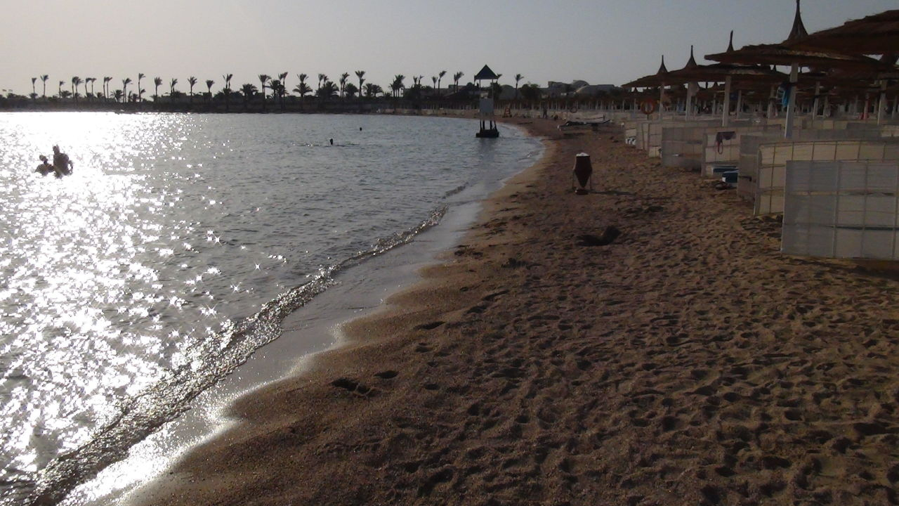 Strand am Abend Dana Beach Resort
