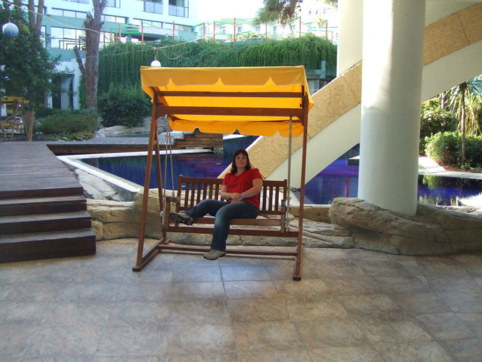 Gartenanlage des Hotels Limak Atlantis De Luxe Hotel & Resort