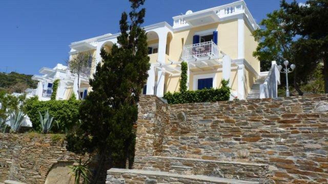 Teil des Hotels Hotel Aneroussa Beach
