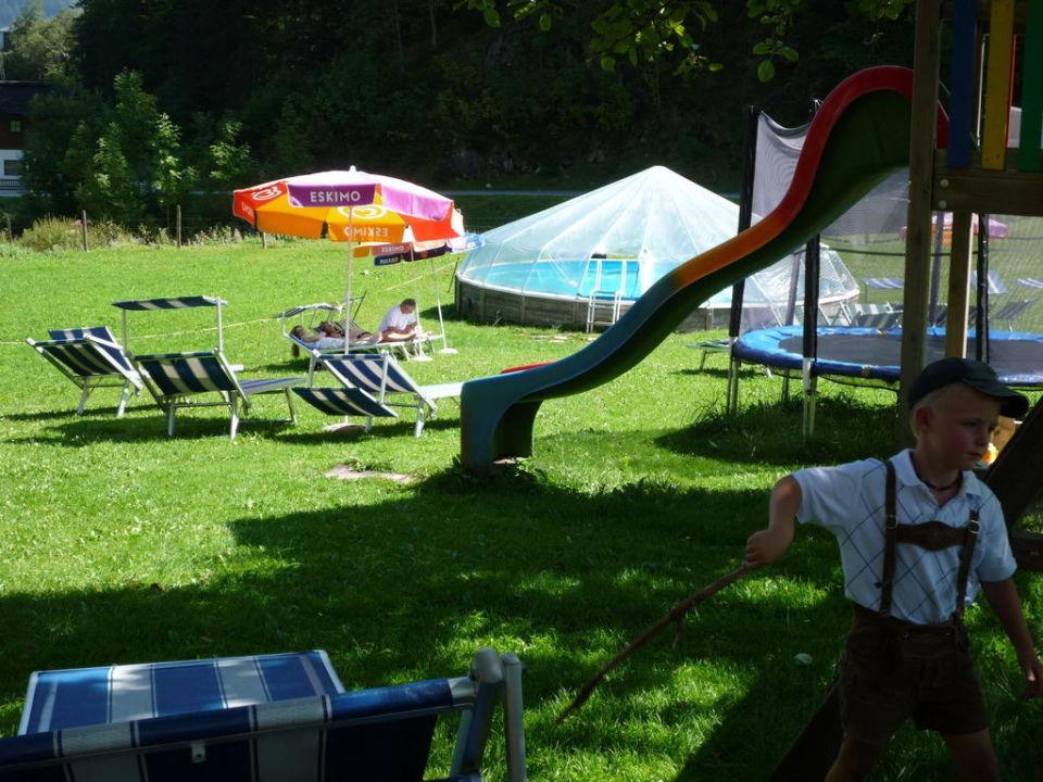 Gartenanlage Alpengasthof Lämmerhof