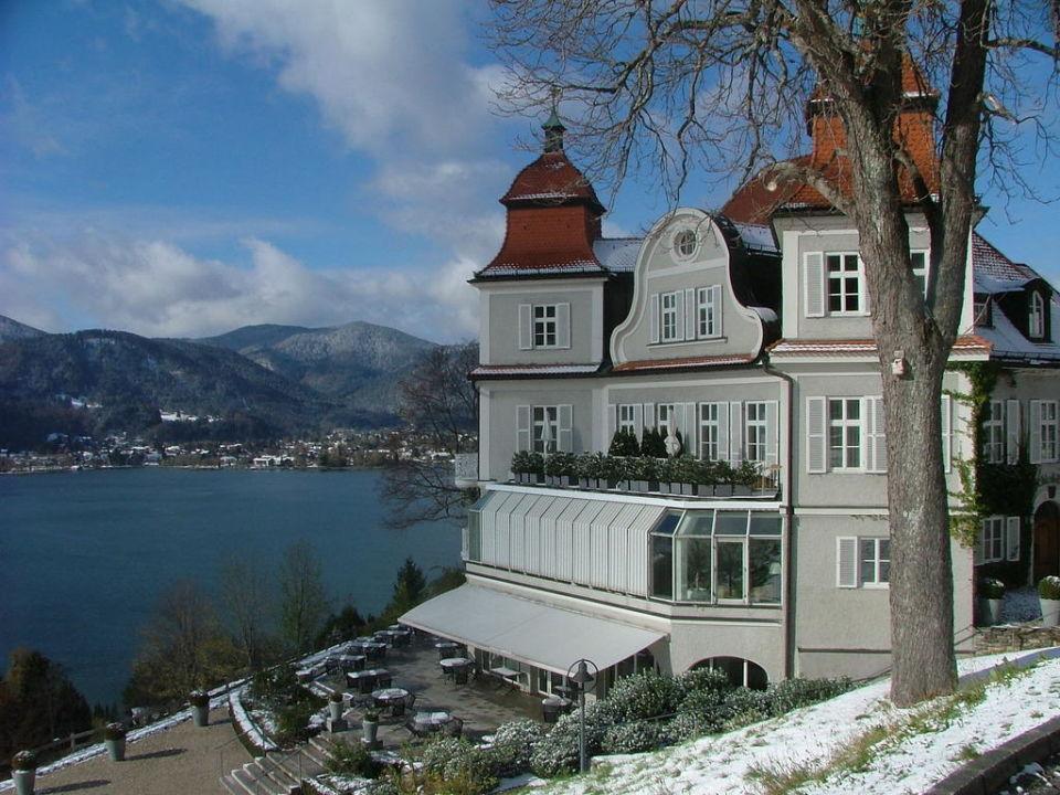 Blick vom Balkon zum Tegernsee\
