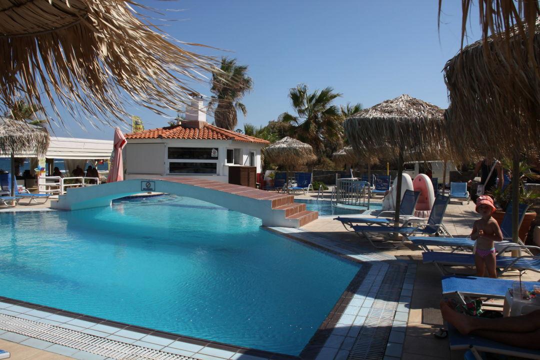 Poolbrucke Hotel Aeolos Beach Malia Holidaycheck Kreta