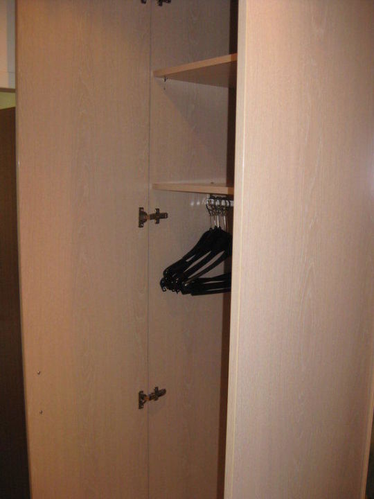 Blick in den Kleiderschrank\