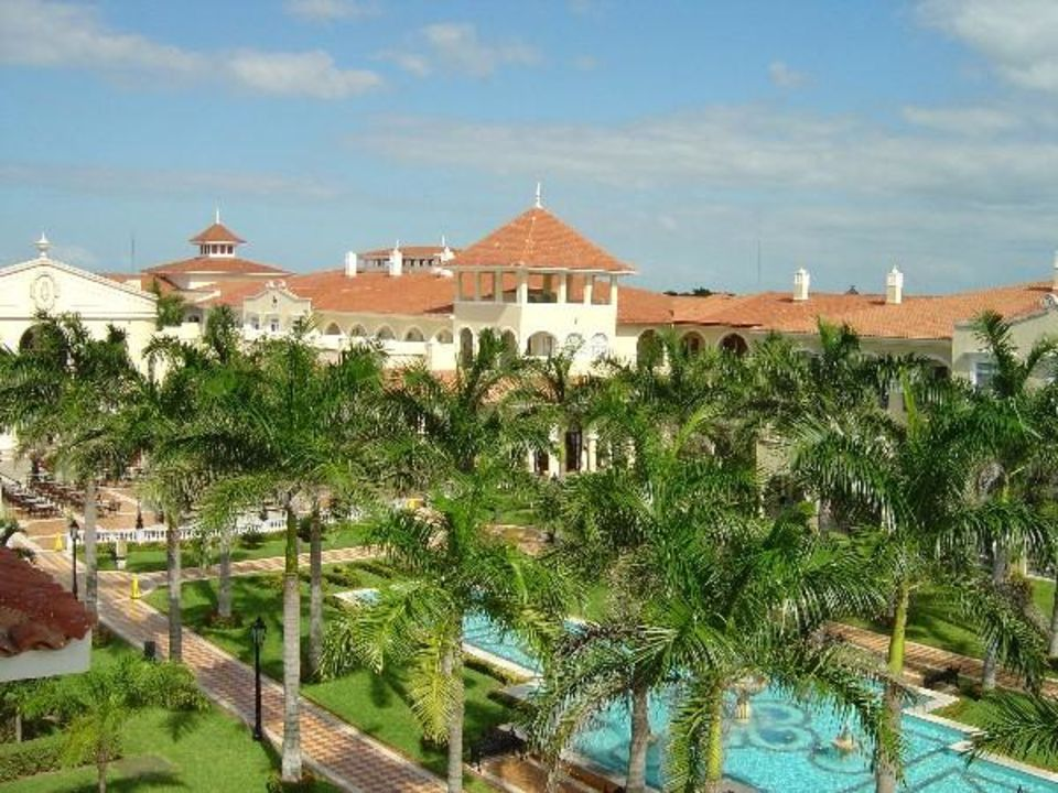 Blick über den Innenhof Hotel Riu Palace Mexico
