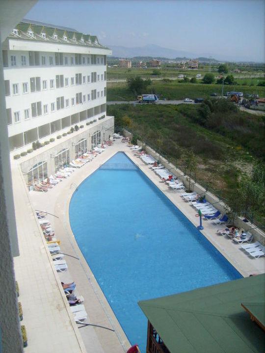 Blick vom Balkon Side Royal Paradise Hotel