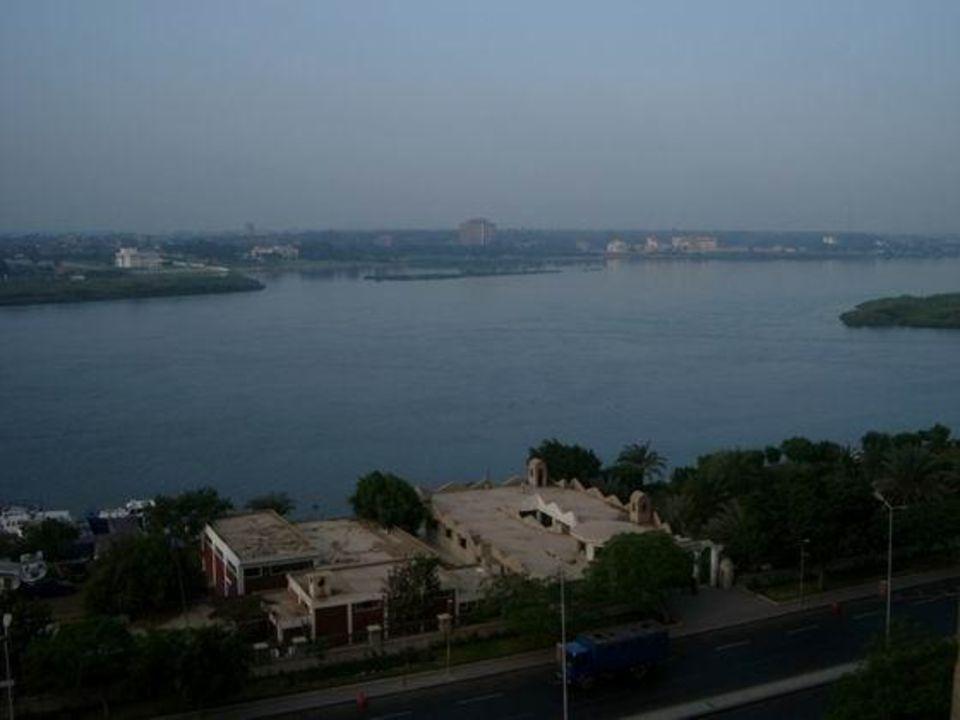 Ausblick vom Hotelzimmer 7. Stock  im Sofitel Cairo Maadi Ho Holiday Inn Cairo Maadi Towers & Casino