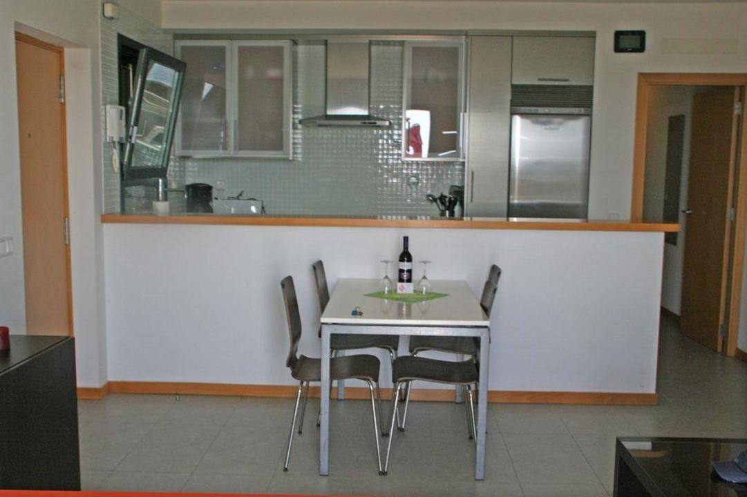 amerikanische k che apartments los balos el medano holidaycheck teneriffa spanien. Black Bedroom Furniture Sets. Home Design Ideas