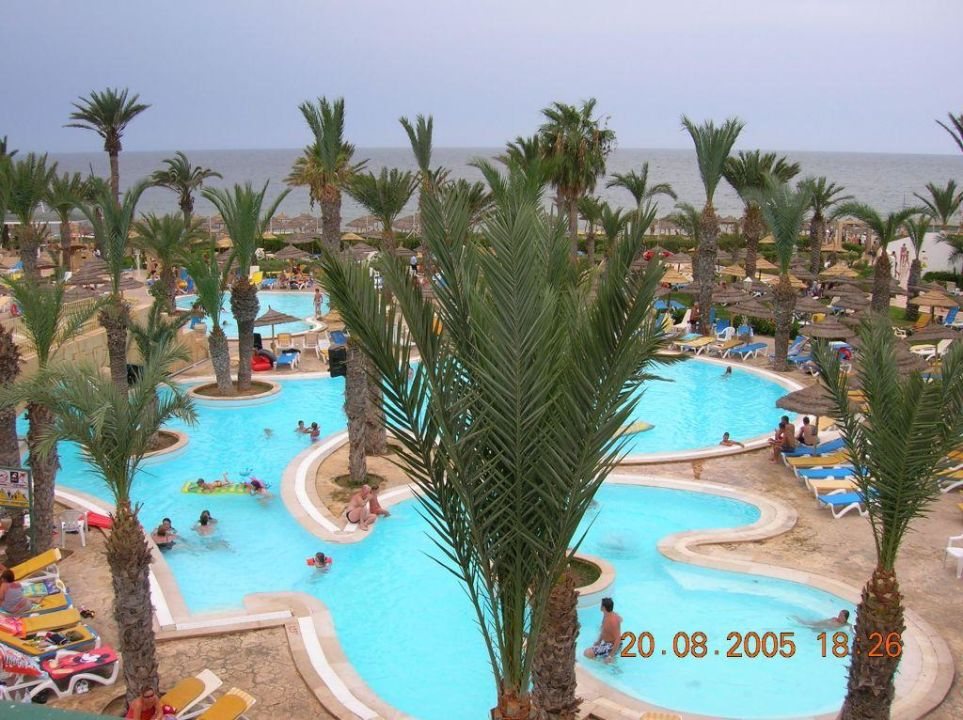 Poolanlage Hotel Houda Golf & Beach Club