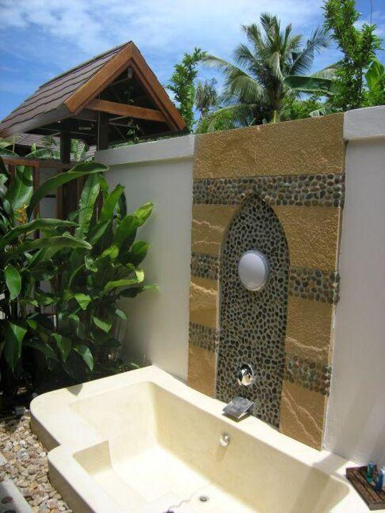 Koh Samui, Bo Phut Beach, Bandara Resort & Spa - Außenwanne Bandara Resort & Spa Samui