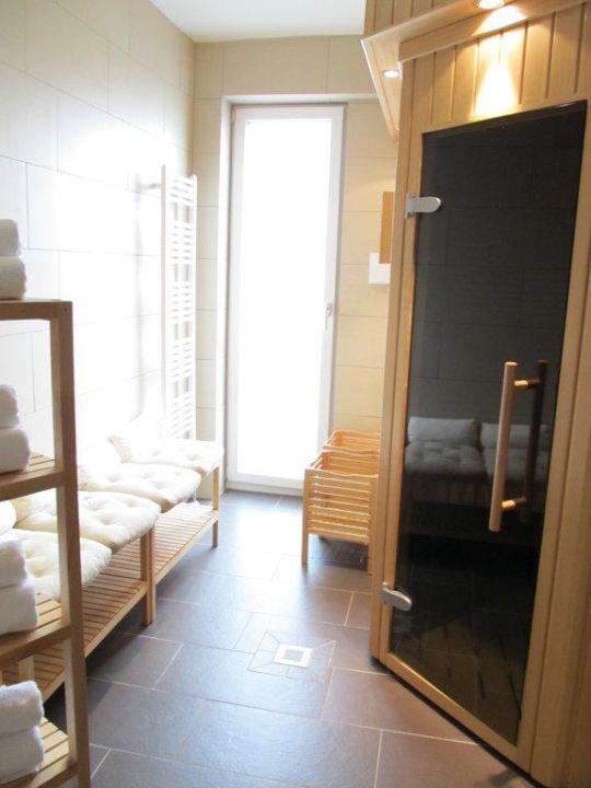 Sauna Links Der Ruhebereich Novum Style Hotel Hamburg Centrum