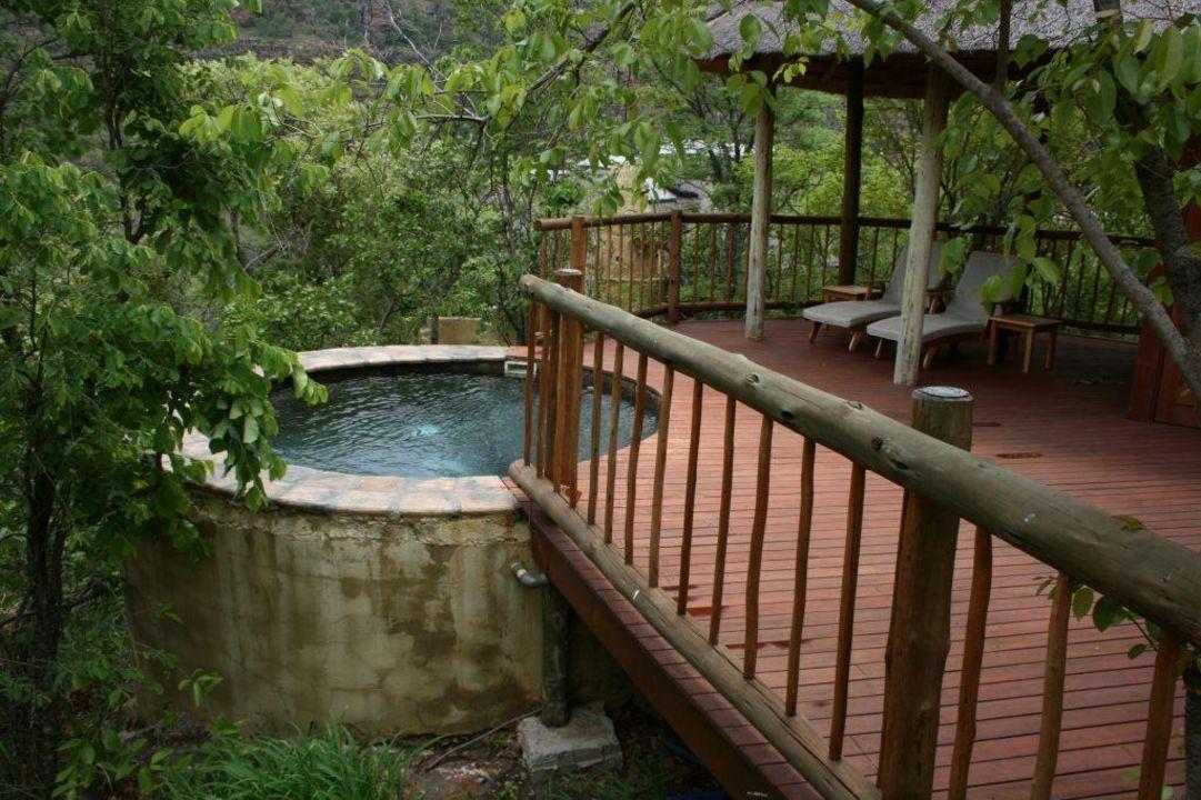 Eigene Terrasse Mit Kleinem Pool Hotel Clifftop Exclusive Safari