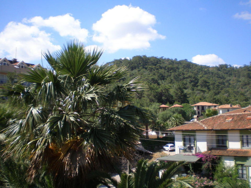 The view from our balcony Kervansaray Marmaris Hotel