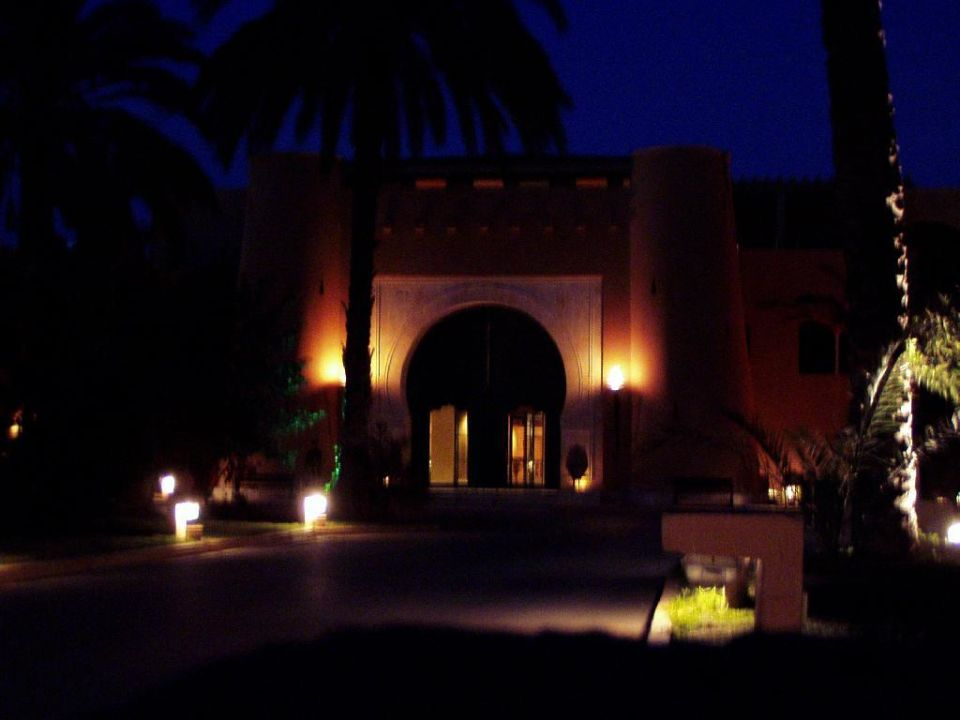 Hotel Karthago El Ksar bei Nacht Vendome El Ksar Resort & Thalasso