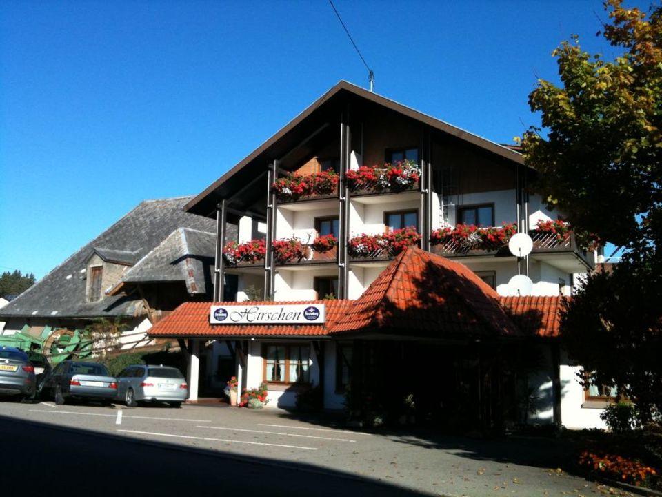 Straße Gasthof Hirschen Herzogenweiler