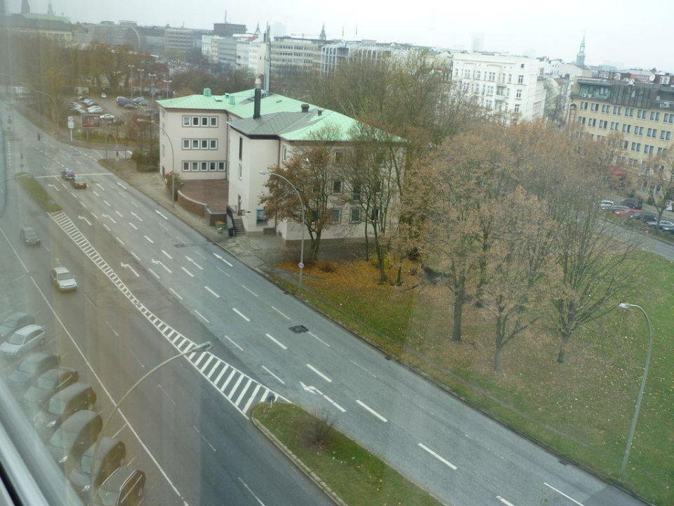 Blick aus dem Fenster unseres Zimmers Junges Hotel