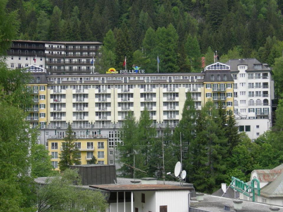 Rückansicht MONDI-HOLIDAY First-Class Aparthotel Bellevue