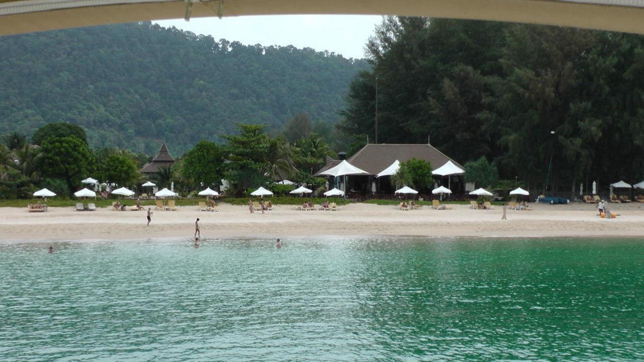 Strand bei der Ankunft mit dem Speedboot Layana Resort & Spa - Adults only