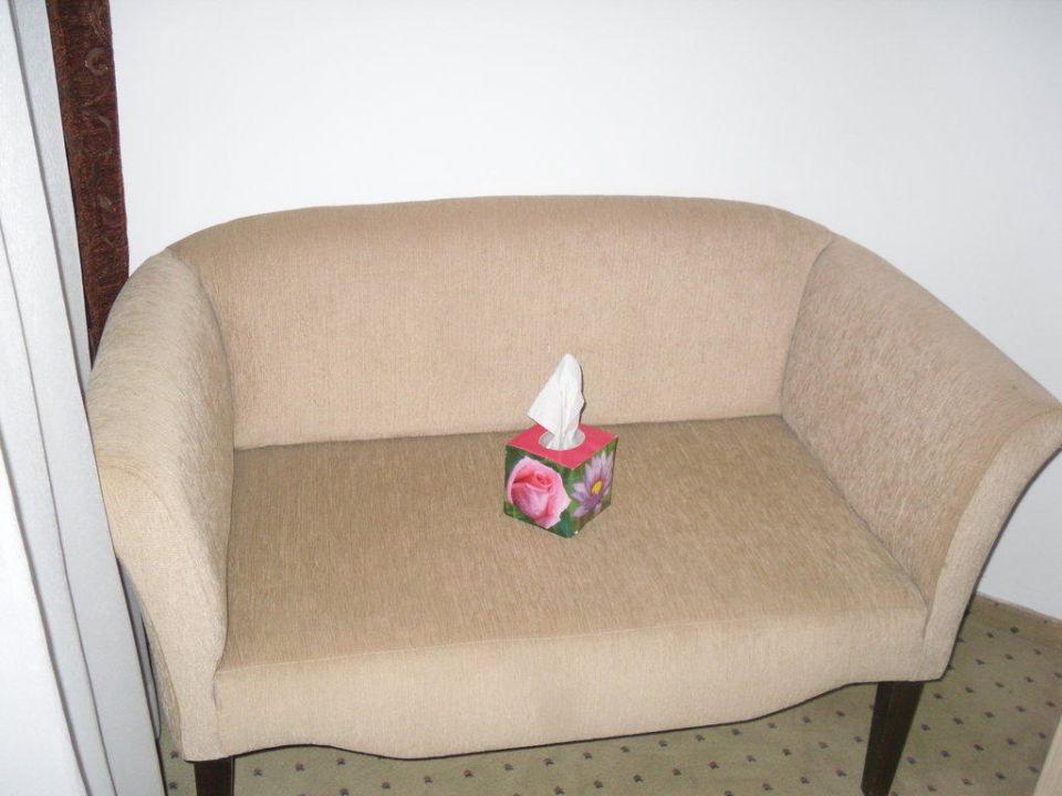 Gemütliches Sofa Hotel Grand Seker