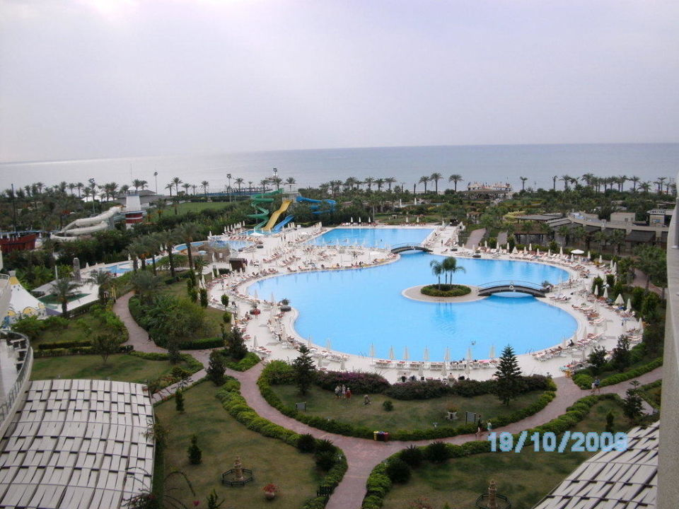 Blick vom Zimmer Hotel Miracle Resort