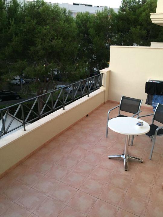 Quot 12qm Balkon Quot Allsun Hotel Mar Blau Sant Llorenc Des