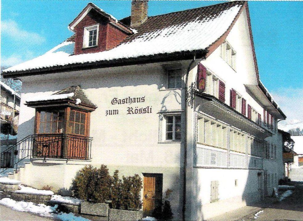 Aussenansicht Gasthaus zum Rössli Gasthaus zum Rössli