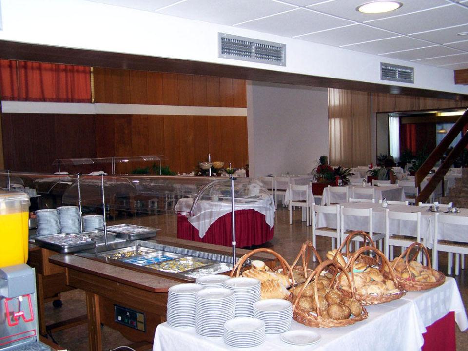 Frühstück Hotel Minerva  (Vorgänger-Hotel – existiert nicht mehr)