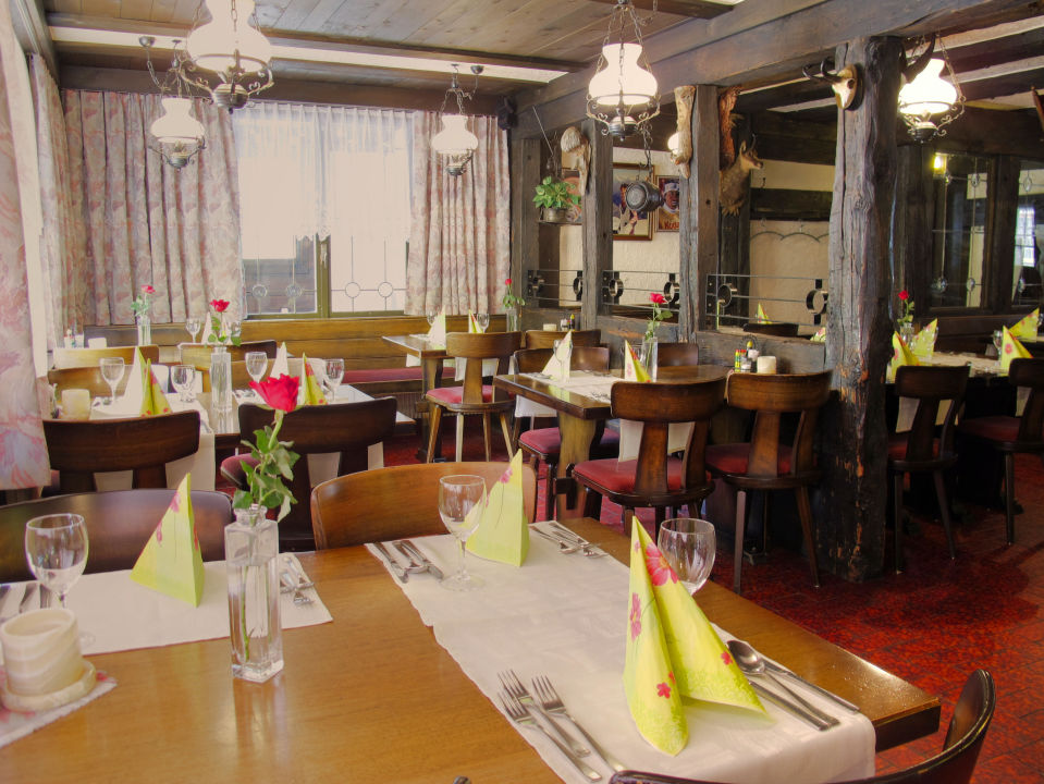 Rustikales Restaurant Hotel Mattmarkblick