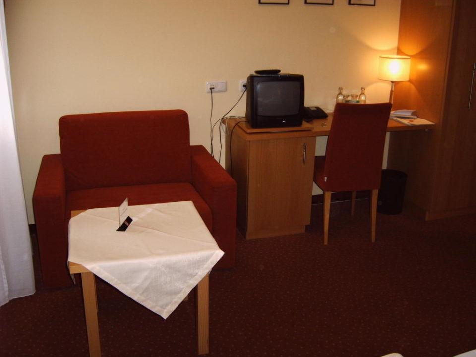 Zimmer 312 - Leseecke Hotel am Frauenplan