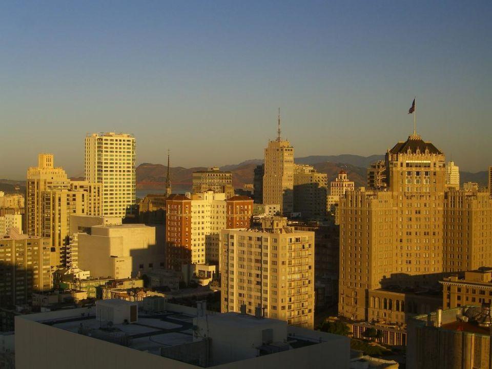 Unser Zimmer Hotel Grand Hyatt San Francisco