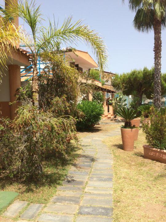 Gartenanlage Hotel Grotticelle