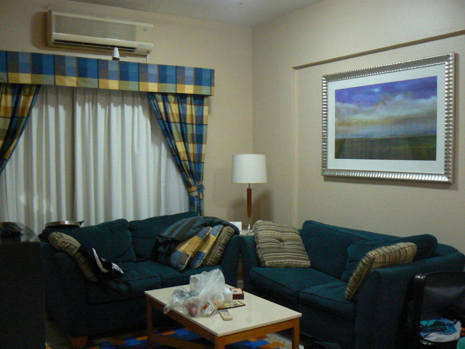 Sitzecke  Golden Sands Hotel Apartments
