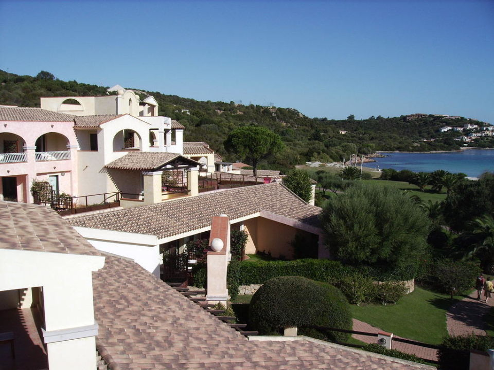 Blick von der Terrasse Hotel Abi d'Oru