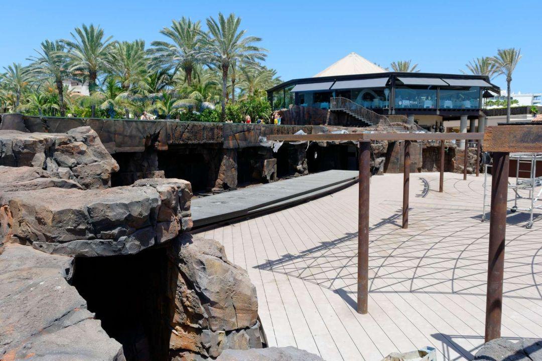 lopesan costa meloneras resort spa & casino baustelle