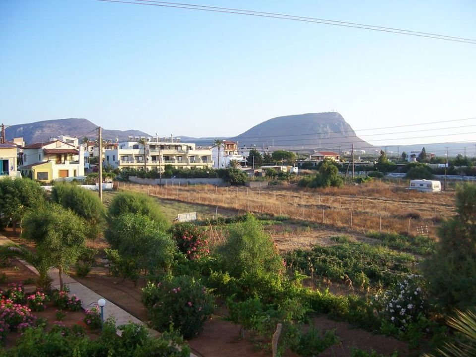 Vom Balkon Cretan Filoxenia Beach Hotel  (geschlossen)