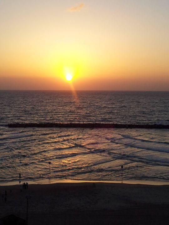 Nice sunset Sheraton Tel Aviv