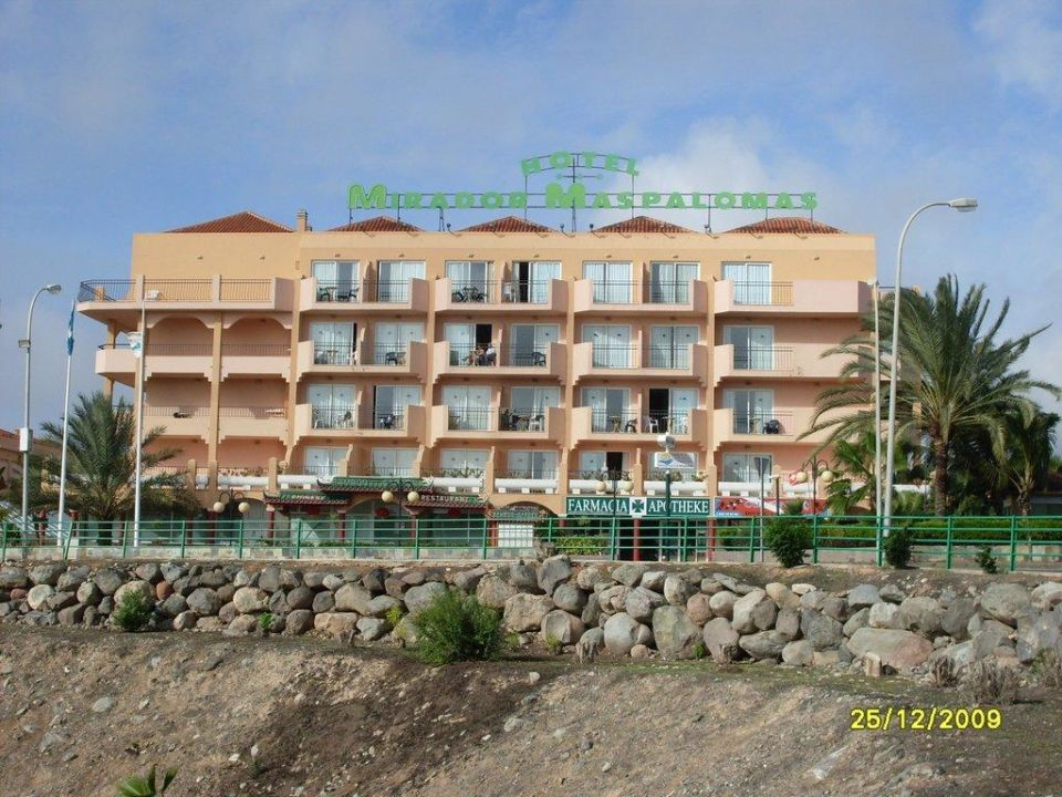 Aussenansicht Hotel Mirador Maspalomas Dunas