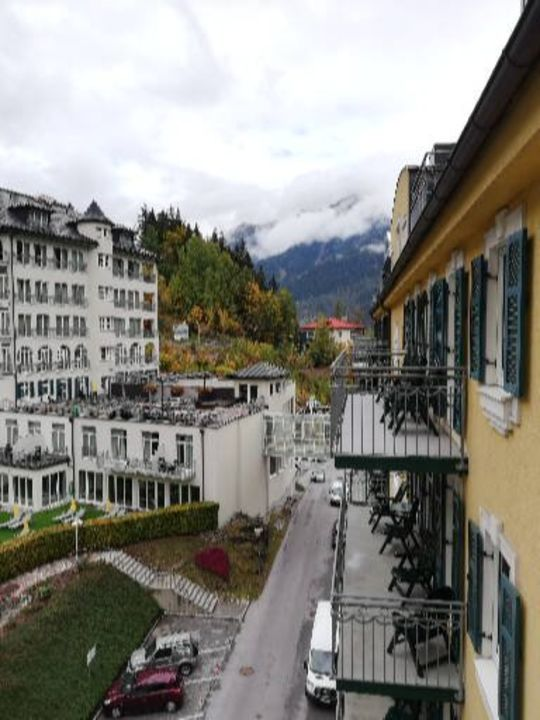 Ausblick MONDI-HOLIDAY First-Class Aparthotel Bellevue