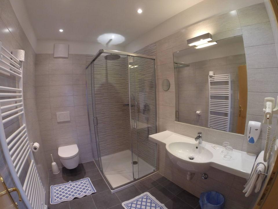 Badezimmer Hotel Kristall