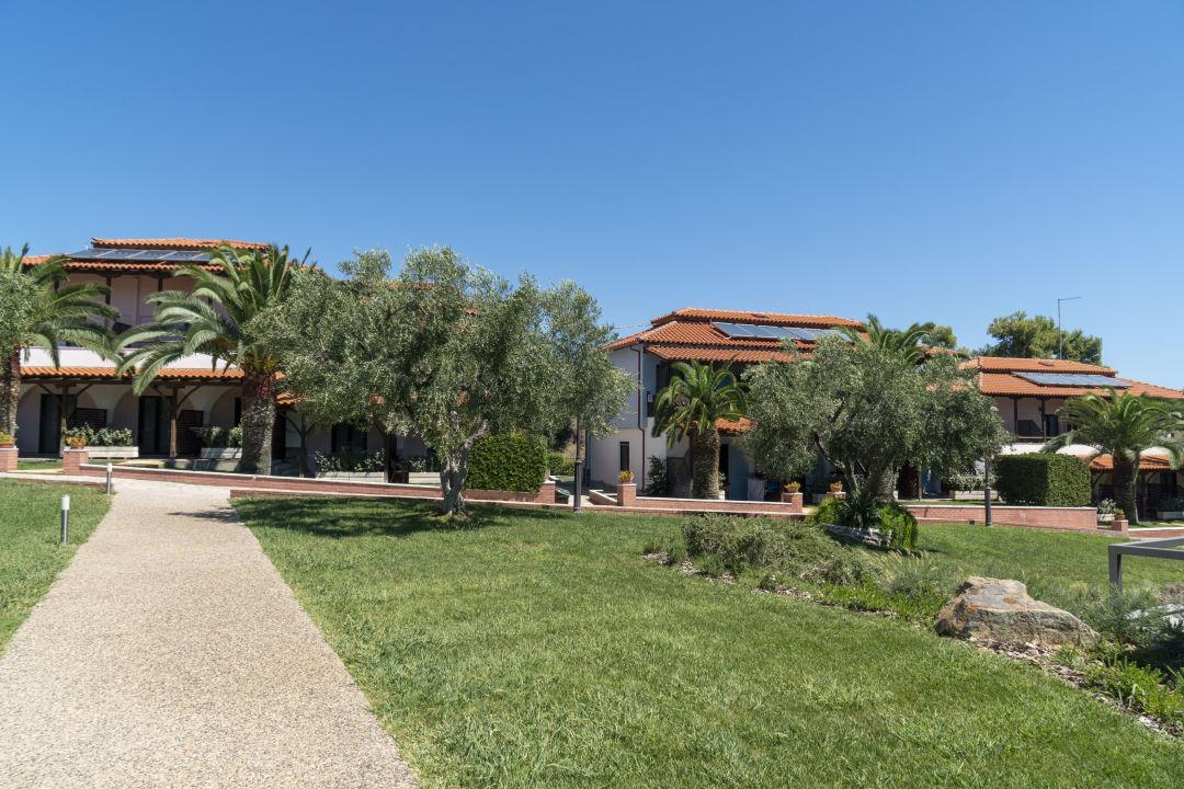 Gartenanlage Hotel Blue Dolphin