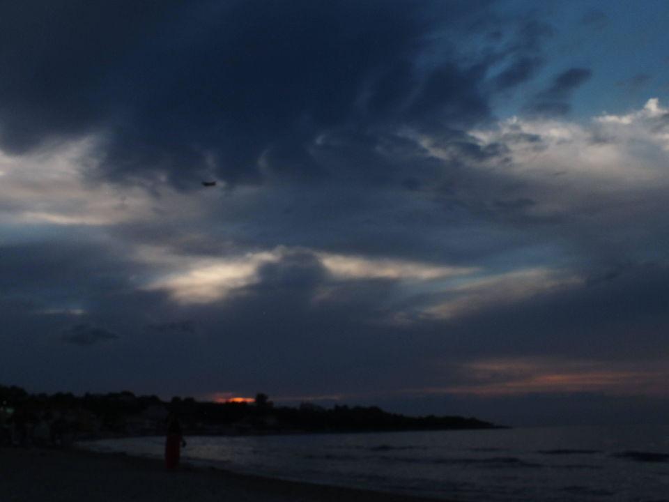 Po zachodzie słońca Mavrikos Hotel Zante