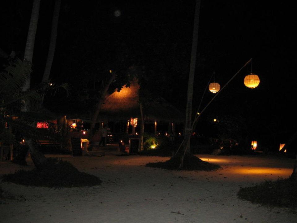 Blick vom Restaurant/Bar ins Resort Hotel Thapwarin Resort