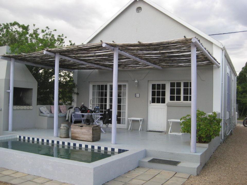 Terrasse Und Kleiner Pool Apartment Bid Huisie Prince Albert