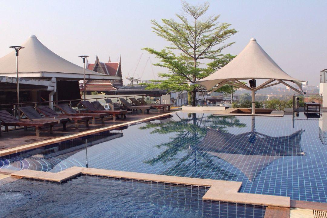 pool auf dem dach dang derm hotel bangkok holidaycheck gro raum bangkok thailand. Black Bedroom Furniture Sets. Home Design Ideas