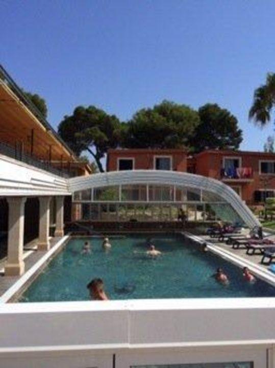 "Pool Mit Dach pool mit dach"" occidental playa de palma (platja de palma / playa de"